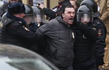 Decenas de detenidos en Moscú por protestar contra el Kremlin