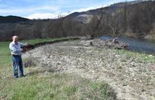 La Cerdanya reclama netejar el riu Segre per evitar inundacions