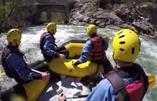 El ràfting va ser el 2016 l'esport d'aventura més sol·licitat i practicat a la demarcació de Lleida, seguit pel trèquing, el senderisme i el descens de barrancs.