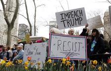 Protestes als EUA perquè Trump publiqui els seus impostos