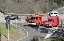 Moren els dos ocupants d'una moto en una brutal col·lisió a la Vall de Boí