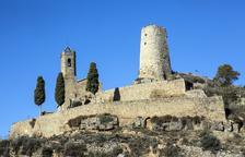 Tanquen el pas a la torre de Lloberola al caure roques