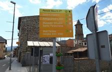 Vilaller renova indicadors dels punts d'interès turístic