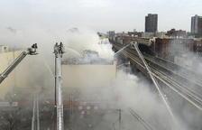 Cinc morts per un incendi a Nova York