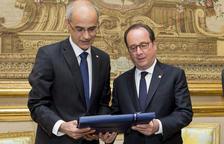 Martí agraeix a Hollande l'ajuda prestada per França a Andorra