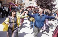 Ciutadilla cierra la Trobada de Grups de Recreació Medieval con 4.000 visitantes