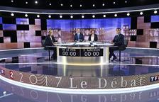 El 'cara a cara' de Macron i Le Pen, un encreuament d'acusacions i retrets
