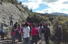 Fins a 70 persones en una ruta geològica sobre dinosaures