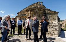 Inauguració de les obres de restauració del Castell de Mur