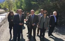Aran inaugura un tram del Camin Reiau després de la restauració
