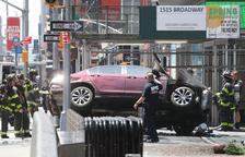 Un mort i dinou ferits en un atropellament a Times Square de Nova York
