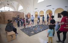 Taller infantil de l'Espai Guinovart en el Dia Internacional dels Museus