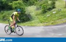 Els ànims de la mare d'un ciclista