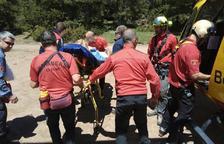 Hallan a una boletaire perdida 19 horas entre el Alt Urgell y Andorra
