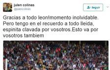 El recuerdo de Julen Colinas a Lleida