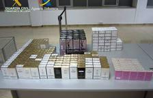 Intervinguts més de 200 flascons de perfums no declarats a la Farga