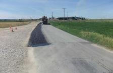 Inversió de 330.000 euros per reparar els camins d'Alcarràs