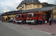 Deu dels quinze bombers voluntaris del Pont de Suert deixen el servei