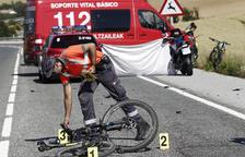 Tres ciclistes morts i un quart ferit en diversos punts de Navarra
