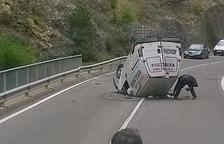 Un motorista de Cervera de 35 anys mor en una col·lisió a Castell de Mur