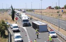 Fallece un motorista de 61 años en Guixers, el tercero en 4 días en carreteras de Ponent