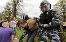 Un mes de presó a l'opositor a Putin per protestes violentes a Rússia