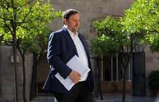 El vicepresident del Govern i líder d'ERC, Oriol Junqueras.