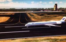 Aterratge a Lleida - Alguaire