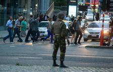 Abatut un home amb explosius a l'Estació Central de Brussel·les