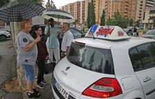 Examinadors lleidatans de trànsit planten alumnes del Pirineu