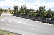 Rotonda per evitar accidents entre Torre-serona i Torrefarrera
