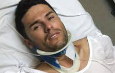 Atropella un ciclista i dóna positiu en drogues en una rotonda de Seròs