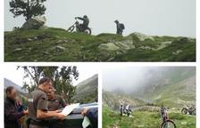 Multa por ir en el Pirineo con motos campo a través