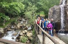 Santi Vila recorre la Ruta Puig i Cadafalch a la Vall de Boí