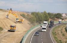 Mor una persona en un accident a l'autovia A-2 a Alcarràs