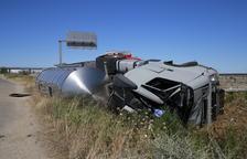 Mor atropellat per un camió l'operari d'una grua a l'autovia A-2 al seu pas per Alcarràs
