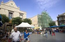 Guissona recupera la fachada del histórico Centre Catòlic i Obrer