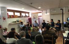 Debat sobre mitjans i l'aranès