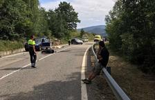 Mor un motorista en un xoc amb un cotxe a Montferrer i Castellbó