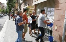 Protesta pagesa a Reus contra Casa Ametller