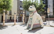 Guissona decora las calles para la celebración del Mercat Romà