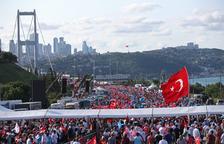 Turquia commemora el primer aniversari del fallit cop militar