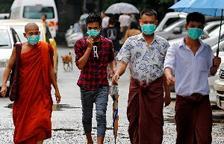 Dos muertos y trece infectados por gripe porcina en Birmania