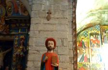 Esglésies d'Aran recuperen cinc talles de fusta