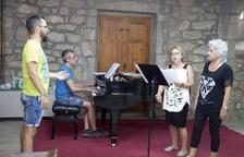 Comença el curs de cant de Castellserà amb una vintena d'inscrits