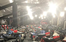 Mostra permanent de motos clàssiques a Caldes de Boí