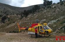 Rescaten un escalador i una excursionista ferits a la Pobla de Segur i Espot