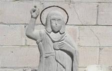 Recullen firmes a favor de l'escultura de Sant Joan de Benavent de Segrià