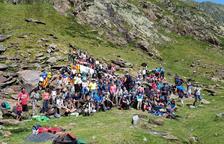 Fins a 200 persones en la trobada transfronterera de Tavascan