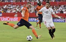 El Sevilla pateix però s'aconsegueix classificar per a la Champions